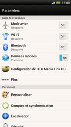 HTC S728e One X Plus - MMS - Configuration manuelle - Étape 4