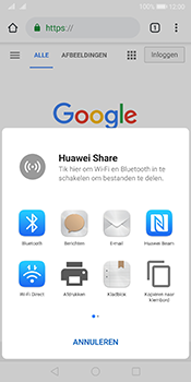 Huawei Mate 10 Pro Dual-SIM (Model BLA-L29) - Android Pie - Internet - Hoe te internetten - Stap 21