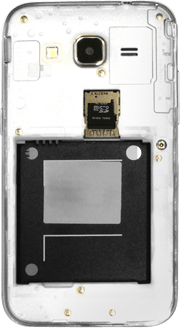 Samsung G360F Galaxy Core Prime - SIM-Karte - Einlegen - Schritt 6