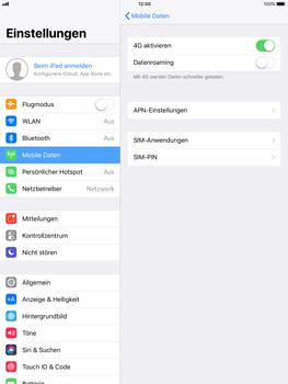 Apple ipad-pro-9-7-inch-mit-ios-11 - Netzwerk - Netzwerkeinstellungen ändern - Schritt 5