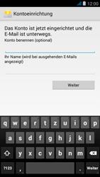 Wiko jimmy - E-Mail - Manuelle Konfiguration - Schritt 19