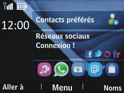 Nokia Asha 201 - Internet - Examples des sites mobile - Étape 1