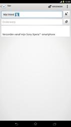 Sony C6833 Xperia Z Ultra LTE - E-mail - hoe te versturen - Stap 8