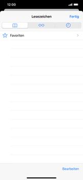 Apple iPhone XS Max - iOS 13 - Internet und Datenroaming - Verwenden des Internets - Schritt 9