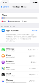 Apple iPhone XS - Applications - Comment désinstaller une application - Étape 5