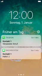 Apple iPhone SE - iOS 11 - Sperrbildschirm und Benachrichtigungen - 8 / 10