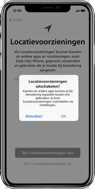 Apple iphone-xs-max-met-ios-13-model-a1921 - Instellingen aanpassen - Activeer het toestel en herstel jouw iCloud-data - Stap 24