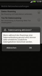 HTC One S - Ausland - Im Ausland surfen – Datenroaming - 1 / 1