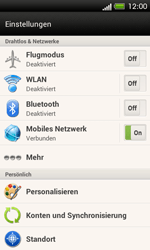 HTC One SV - WLAN - Manuelle Konfiguration - 4 / 9