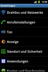 Samsung S5830 Galaxy Ace - Netzwerk - Netzwerkeinstellungen ändern - Schritt 4