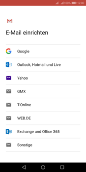 Huawei Y7 (2018) - E-Mail - 032a. Email wizard - Gmail - Schritt 7