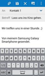 Samsung Galaxy Trend 2 Lite - E-Mail - E-Mail versenden - 0 / 0