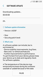 Samsung A320F Galaxy A3 (2017) - Android Oreo - Device - Software update - Step 8
