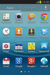Samsung S6810P Galaxy Fame - Internet - Internet browsing - Step 2