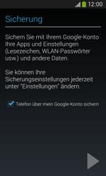 Samsung S7275 Galaxy Ace 3 - Apps - Konto anlegen und einrichten - Schritt 23