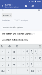 HTC One A9s - E-Mail - E-Mail versenden - 0 / 0