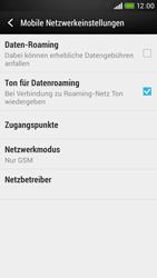 HTC Desire 601 - Netzwerk - Netzwerkeinstellungen ändern - Schritt 7