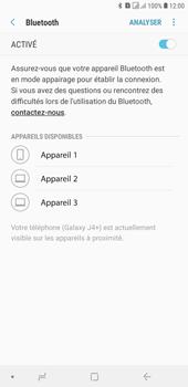 Samsung Galaxy J4+ - Internet et connexion - Connexion avec un équipement multimédia via Bluetooth - Étape 9