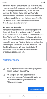 Samsung Galaxy Note 10 - Apps - Einrichten des App Stores - Schritt 15