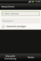 HTC A320e Desire C - E-Mail - Konto einrichten - Schritt 6