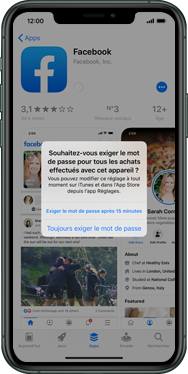 Apple iPhone 11 - Applications - Configuration de votre store d