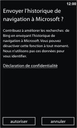 Nokia Lumia 710 - Internet - Navigation sur Internet - Étape 3