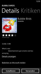 Nokia Lumia 1320 - Apps - Einrichten des App Stores - Schritt 8