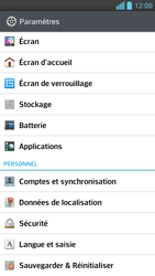 LG Optimus F6 - Applications - Supprimer une application - Étape 4