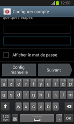 Samsung I8730 Galaxy Express - E-mail - Configuration manuelle - Étape 6