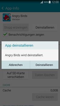 Samsung Galaxy Note 4 - Apps - Eine App deinstallieren - Schritt 6
