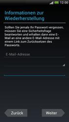 HTC One S - Apps - Konto anlegen und einrichten - 13 / 23