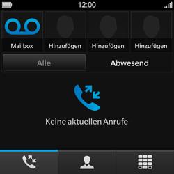 BlackBerry Q10 - Anrufe - Rufumleitungen setzen und löschen - Schritt 4