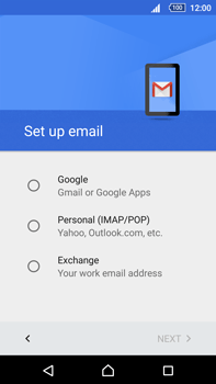 Sony Xperia Z5 Premium (E6853) - E-mail - Manual configuration (gmail) - Step 8