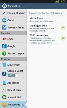 Samsung Galaxy Tab 3 8-0 LTE - Logiciels - Installation de mises à jour - Étape 7