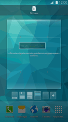 Samsung Galaxy S 5 - Operazioni iniziali - Installazione di widget e applicazioni nella schermata iniziale - Fase 6