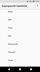 Sony Xperia XZ - Internet - Apn-Einstellungen - 12 / 38