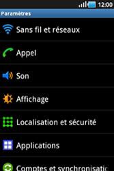 Samsung S5830 Galaxy Ace - Internet - configuration manuelle - Étape 5