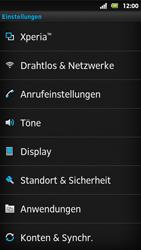 Sony Xperia Sola - WLAN - Manuelle Konfiguration - Schritt 4