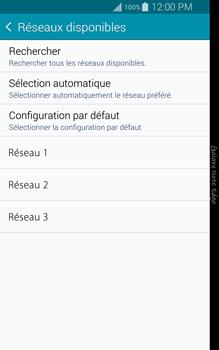 Samsung Galaxy Note Edge - Réseau - Sélection manuelle du réseau - Étape 9