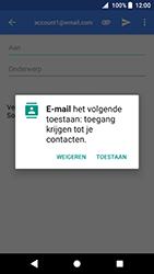 Sony Xperia XZ Premium - Android Oreo - E-mail - e-mail versturen - Stap 4