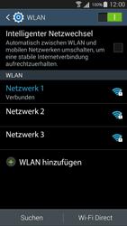 Samsung I9301i Galaxy S III Neo - WLAN - Manuelle Konfiguration - Schritt 8