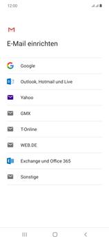 Samsung Galaxy Note 20 5G - E-Mail - Manuelle Konfiguration - Schritt 8