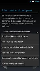 Alcatel One Touch Idol S - Applicazioni - Configurazione del negozio applicazioni - Fase 13