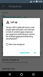 Sony Xperia X (F5121) - Android Nougat - Internet - Uitzetten - Stap 7