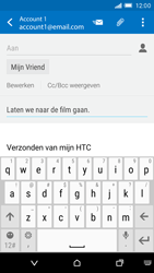 HTC One M9 - E-mail - E-mails verzenden - Stap 9