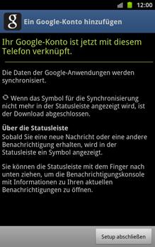 Samsung Galaxy Note - Apps - Konto anlegen und einrichten - 14 / 18