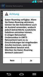 LG G2 - Ausland - Im Ausland surfen – Datenroaming - 2 / 2
