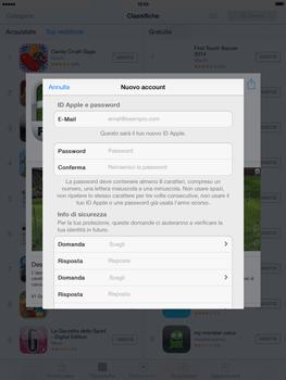 Apple iPad mini iOS 7 - Applicazioni - configurazione del negozio applicazioni - Fase 12