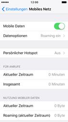 Apple iPhone 5s iOS 10 - Internet und Datenroaming - Deaktivieren von Datenroaming - Schritt 4