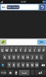 Samsung Wave - MMS - Erstellen und senden - 0 / 0